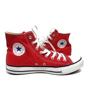 Converse Red High Top Unisex Sneaker W11 M9